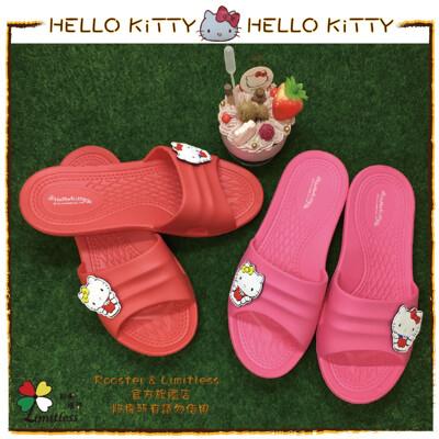 【HELLO KITTY 正版授權】KITTY飾品扣室內拖地板拖居家拖浴室拖鞋 (3.7折)