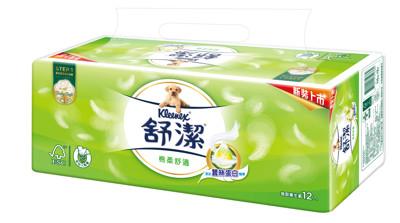 舒潔棉柔舒適抽取衛生紙110抽 36包/ 箱 (7.6折)
