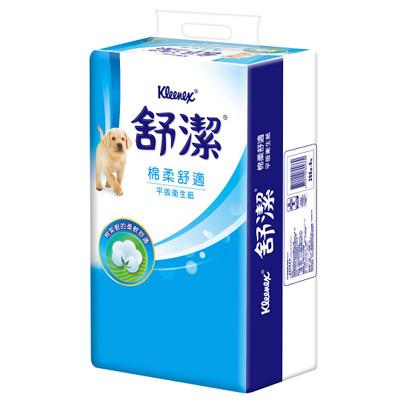 舒潔平版衛生紙268張x6包x8串 / 箱 (8.3折)