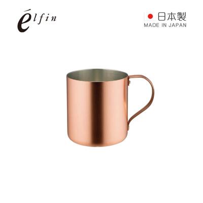 【日本高桑金屬】日製純銅冰咖啡啤酒杯300ml-霧銅 (6.7折)