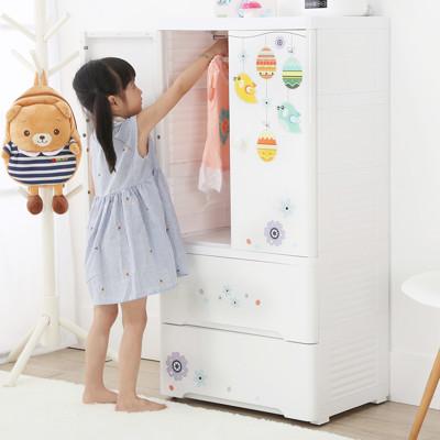 【+O 家窩】貝格雙開門式兒童吊掛衣櫃-4款可選-DIY (6折)