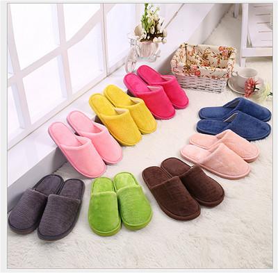 【家的溫度】保暖絨毛男女款居家拖鞋-8色可選 (2.4折)