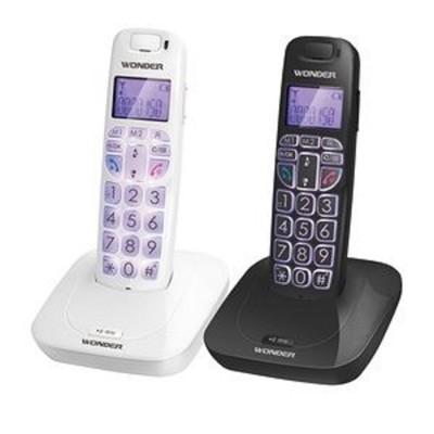 《旺德》DECT數位 無線電話 WT-D05(黑色/白色) (6.4折)