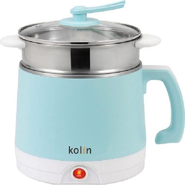 kolin歌林雙層防燙不鏽鋼多功能美食鍋2l(kpk-ln200s)