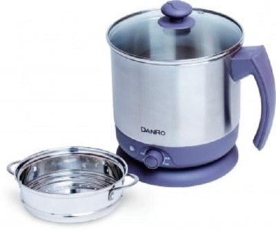 【丹露】2.3L多功能快煮鍋、美食鍋,電煮鍋 / 蒸籠底部可分離 (6折)