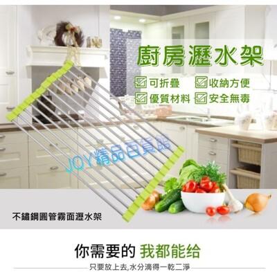 304不鏽鋼廚房瀝水架,碗盤瀝水架,廚房水槽瀝水架,收納架,隔熱墊 (6.5折)