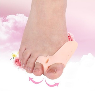 醫護透氣矽膠拇趾外翻腳趾分離器 (2雙入) (3.3折)