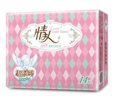 情人 抽取式衛生紙100抽x14包x5串/箱(共70包) (7.5折)