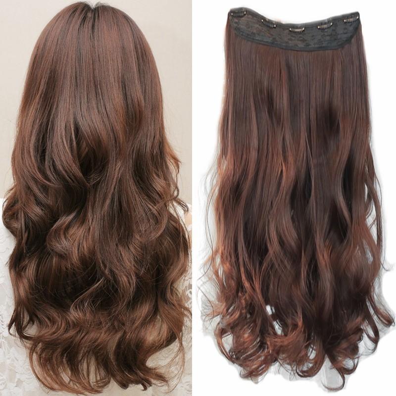 假髮 5夾捲髮髮片 60公分 梨花波浪  中長假髮髮片 一般版 5gfp