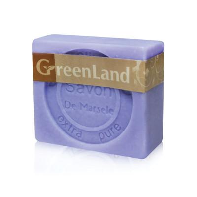 GreenLand 72%初榨橄欖油薰衣草馬賽皂90g(6入)組 (0.4折)