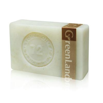 GreenLand 初榨橄欖油核桃去角質馬賽皂120g(6入)組 (0.4折)