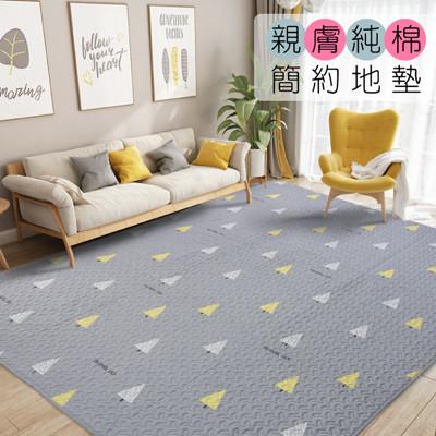 【DTW】專櫃級親膚純棉多功能地墊-150x210cm床墊、大地墊