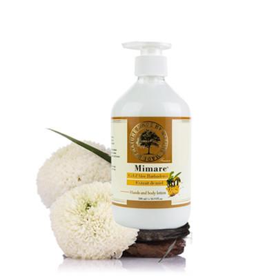 【富樂屋】法國Mimare蜂蜜蘆薈潤膚乳500ml (5.5折)