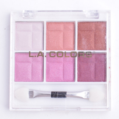 L.A. Girl 粉色系六色眼影盒 (1.3折)