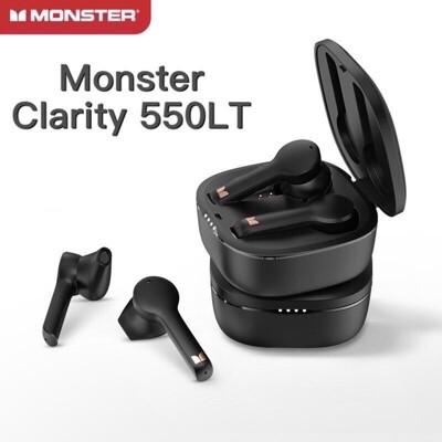 🇹🇼台灣現貨🔥 魔聲 Monster 正版 藍牙耳機 Clarity 550LT 防水 降噪 (10折)