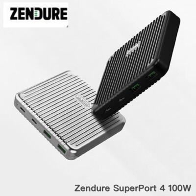 🇹🇼台灣現貨🔥  Zendure 征拓 充電器 快充桌面 100W Superport4 (10折)