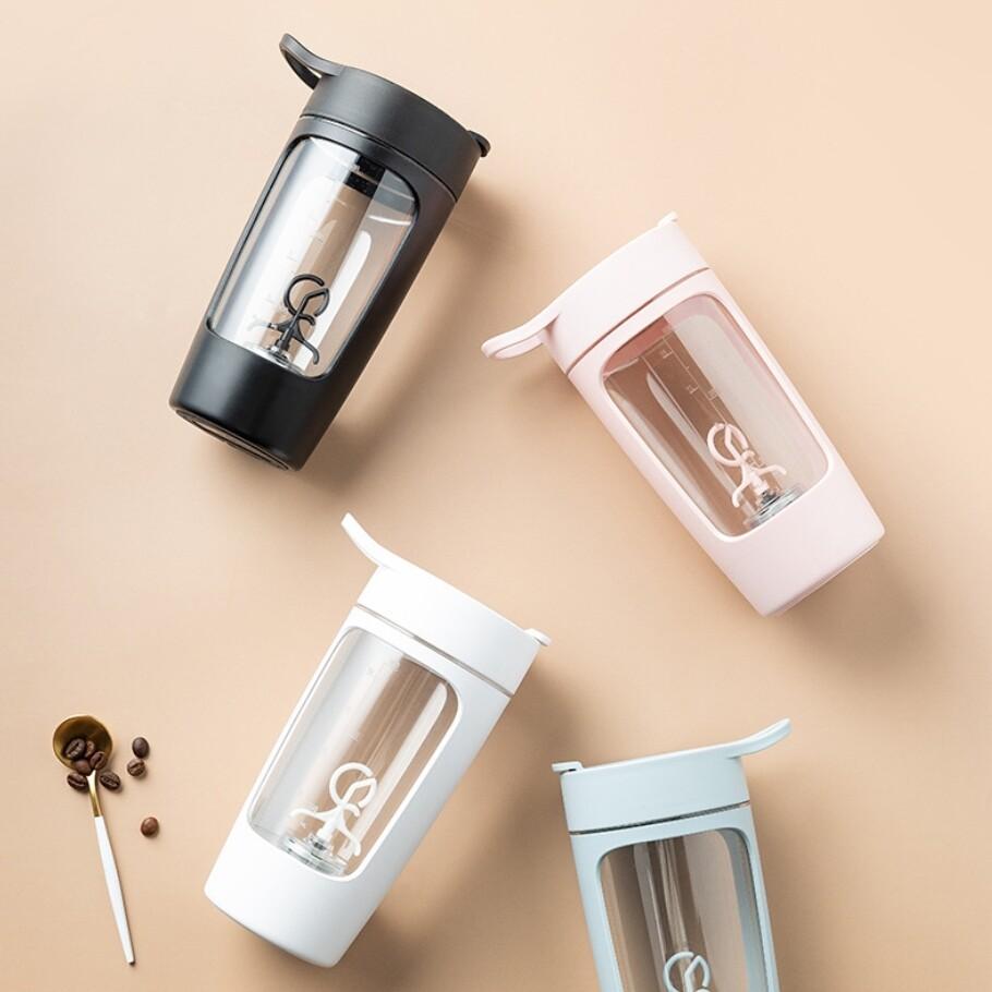 equra 電動攪拌杯 隨身杯 健身杯 搖搖杯 奶昔杯 乳清蛋白 蛋白粉 充店 自動 便攜式