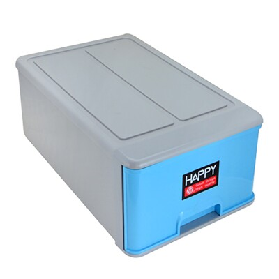 【HAPPY抽屜式整理箱】收納箱 置物箱 玩具箱 工具箱 台灣製造 1010A (5.9折)