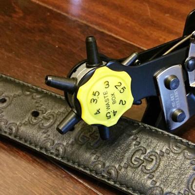高級皮帶打孔器(6款孔) (5.7折)