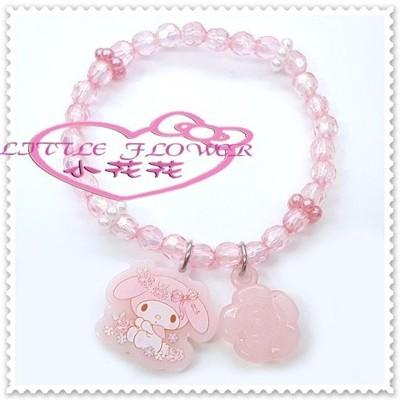 小花花日本精品♥ Hello Kitty 美樂蒂手鍊 00807609 (5折)