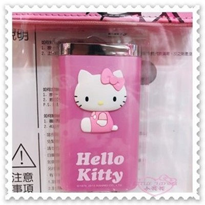 小花花日本精品♥Hello Kitty行動電源LED手電筒附收納袋 7800mAh粉21061103 (9.3折)