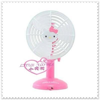 ♥小花花日本精品♥ Hello Kitty 桌上型小款電風扇/電扇USB插頭 粉色 33125206 (5.4折)