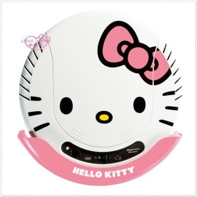 小花花日本精品♥ Hello Kitty 大臉頭造型居家 掃地機器人掃地機吸塵器 粉色 (9.4折)