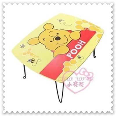 ♥小花花日本精品♥《Disney》迪士尼小熊維尼桌子摺疊桌小桌合室桌收納桌台製 12040605 (5.6折)