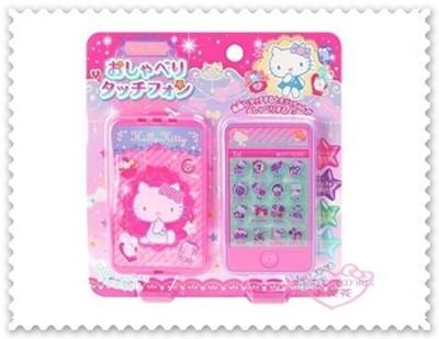 ♥小花花日本精品♥ Hello Kitty 觸控智慧型手機 玩具 音樂多按鈕 粉色 50116300 (7.5折)