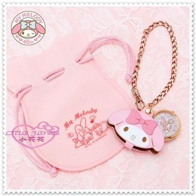 小花花日本精品♥ Hello Kitty 40周年限定 美樂蒂 掛鏈懷錶吊飾 99915506 (9.3折)