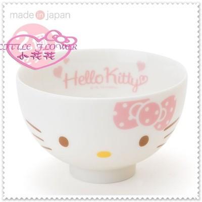 小花花日本精品♥ Hello Kitty 日本製 美濃燒 陶瓷碗 11085201 (6.9折)