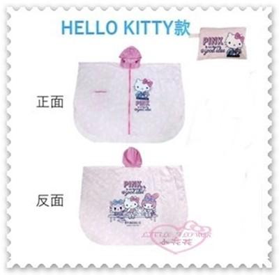 ♥小花花日本精品♥ Hello Kitty 7-11集點商品 限量斗篷式 雨衣 成人斗篷雨衣 (6.8折)
