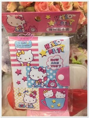 小花花日本精品♥ Hello Kitty 護照套 護照包 卡片套58705209 (4.1折)