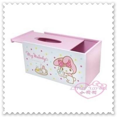♥小花花日本精品♥《Melody》美樂蒂 面紙收納盒 面紙盒 粉色 點點下午茶小兔子33184302 (4.8折)