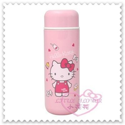 ♥小花花日本精品♥ Hello Kitty 真空保溫杯 保溫瓶 保冷瓶 耐熱 耐冷 粉色 250ML (4.6折)