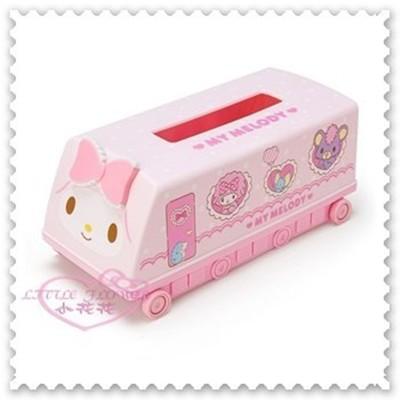 ♥小花花日本精品♥《Melody》美樂蒂 列車式紙巾盒 面紙收納盒 抽取式面紙收納盒57028200 (7折)