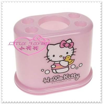 小花花日本精品♥Hello Kitty 牙刷架 牙膏架 筆筒架 33036908 (7.2折)