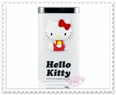 小花花日本精品♥Hello Kitty 行動電源 充電器 附收納包 7800mAh白21075704 (9.2折)