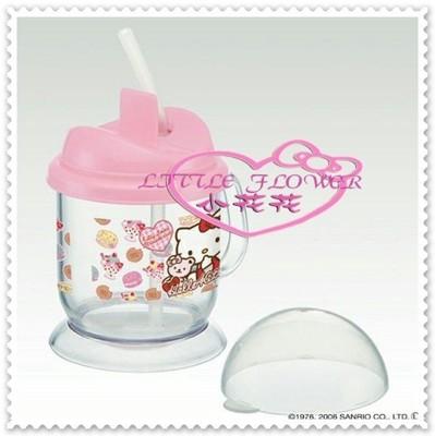 小花花日本精品♥ Hello Kitty 日本製 嬰兒練習杯 手把 彈跳杯11033103 (6.7折)