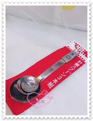 小花花日本精品♥Kitty不鏽鋼量匙 調理量匙 烹飪用量匙 計量匙 量勺 造型量匙 11156307 (2.8折)