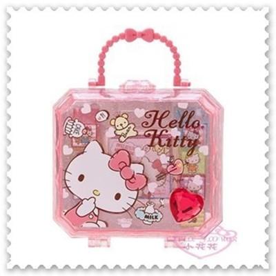 ♥小花花日本精品♥ Hello Kitty 文書用品 印章 印章組 附印泥 附盒子 62024303 (4.9折)