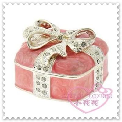 ♥小花花日本精品♥Hello Kitty 珠寶盒飾品盒首飾盒收納盒小物收納盒置物盒絲帶立體蝴蝶結水鑽 (5.6折)