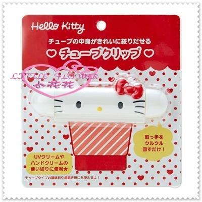 小花花日本精品♥ Hello Kitty 擠牙膏夾 擠牙膏器34079409 (5.6折)