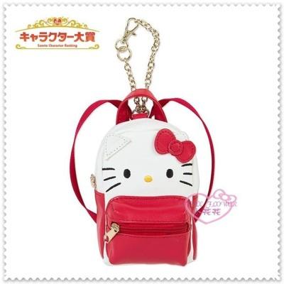 ♥小花花日本精品♥Hello Kitty 立體紅色蝴蝶結 迷你小背包造型掛鍊 吊飾 57014005 (7.8折)