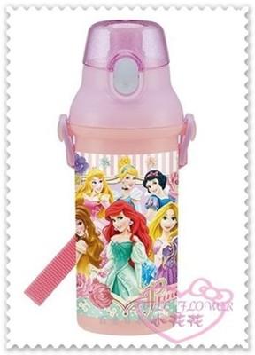 小花花日本精品♥Hello Kitty迪士尼Disney公主兒童水壺直飲式水壺480ml耐熱100度 (6.5折)