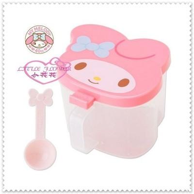 小花花日本精品♥Hello Kitty美樂蒂 調味料罐子調味罐 調味盒 附湯匙粉玫瑰89928004 (7.6折)