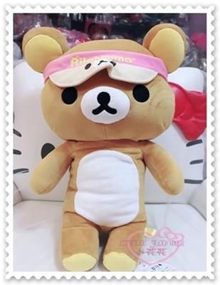 小花花日本精品♥拉拉熊 懶懶熊 站姿 粉色帽子 玩偶 布偶 娃娃 玩具 50118304 (4.8折)