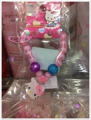 小花花日本精品♥Hello Kitty 手鍊 手鏈 兒童串珠手鍊 67895601 (5.5折)