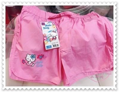 ♥小花花日本精品♥Hello Kitty 短褲 沙灘短褲 玩水必備 粉色 10401705 (4.4折)