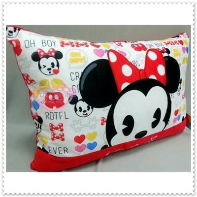 小花花日本精品♥ 米妮 Minnie 紅色 滿滿圖 柔軟 大枕頭 中型抱枕 12335701 (6.4折)